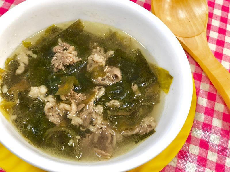 韓式牛肉海帶湯