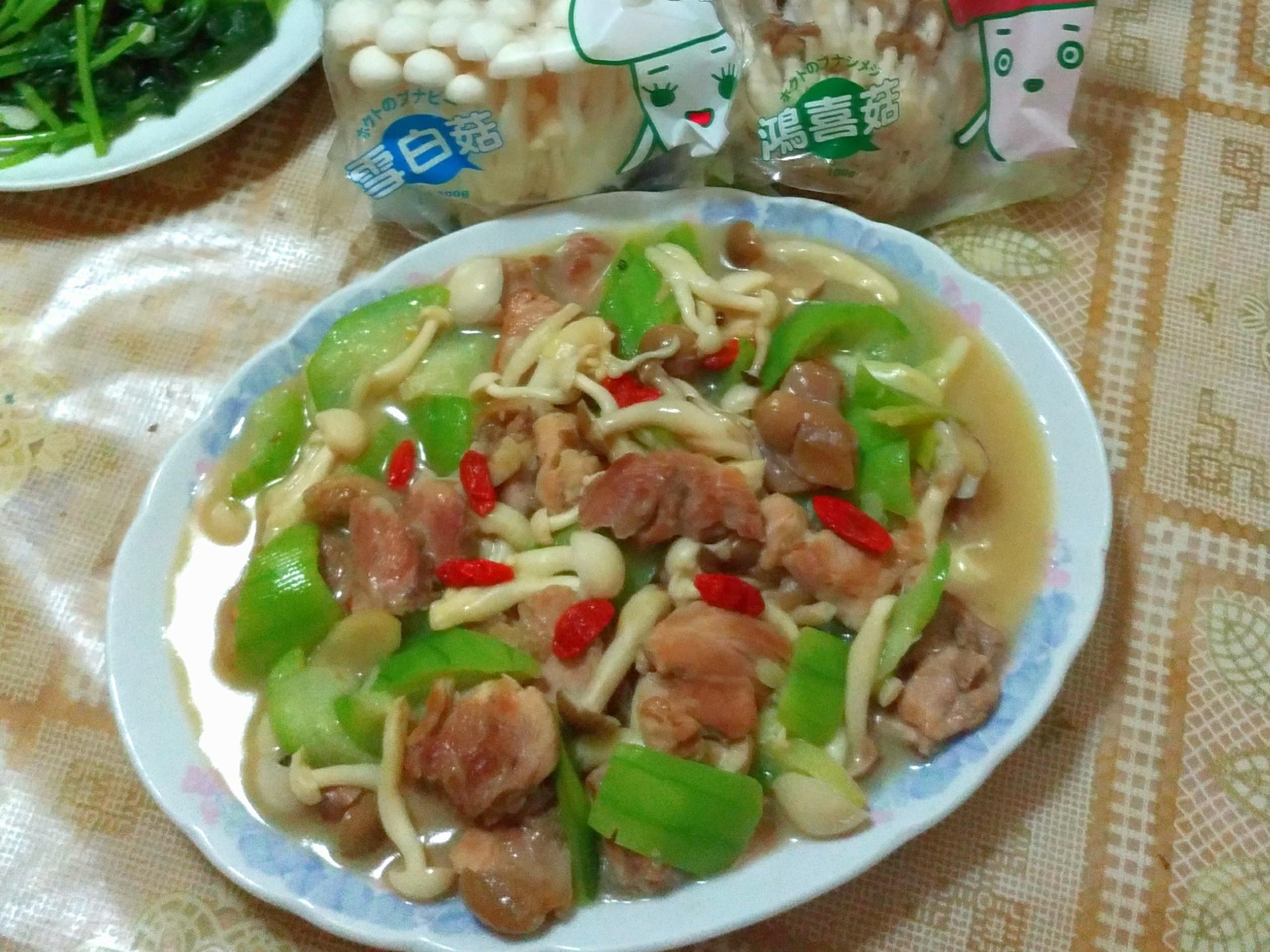 雞肉燴鮮蔬【好菇道親子食光】