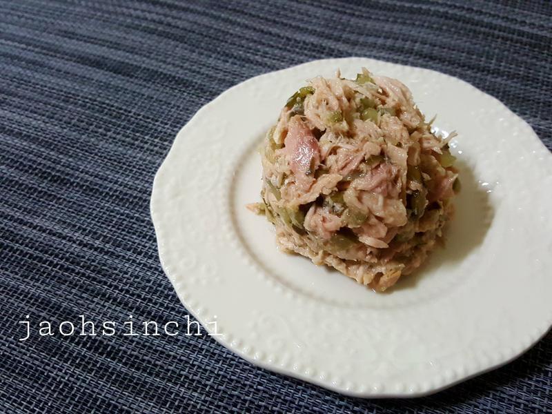 【#深海鮪魚佐美式酸黃瓜沙拉】🥒🐟
