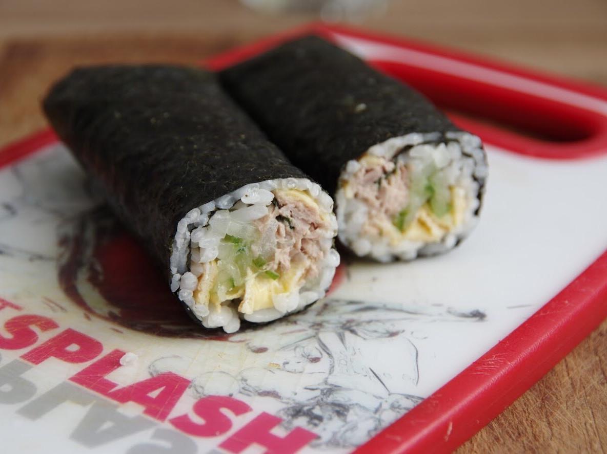 鮪魚壽司捲