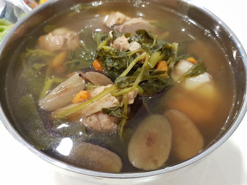 西洋菜羅漢果湯