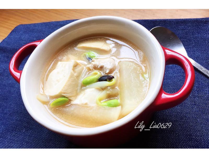 輕爽味增湯