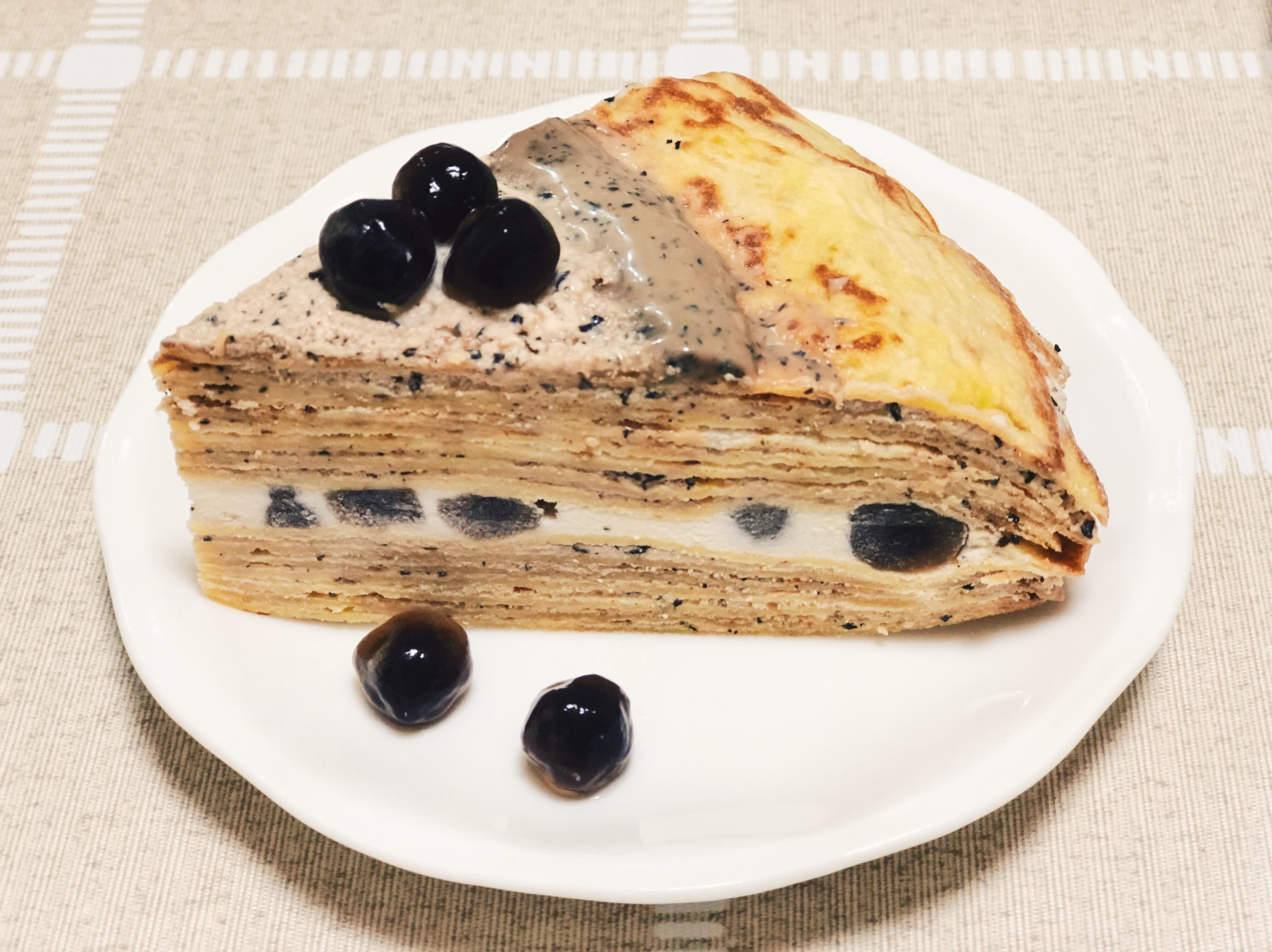 貴婦下午茶《伯爵珍奶千層蛋糕》