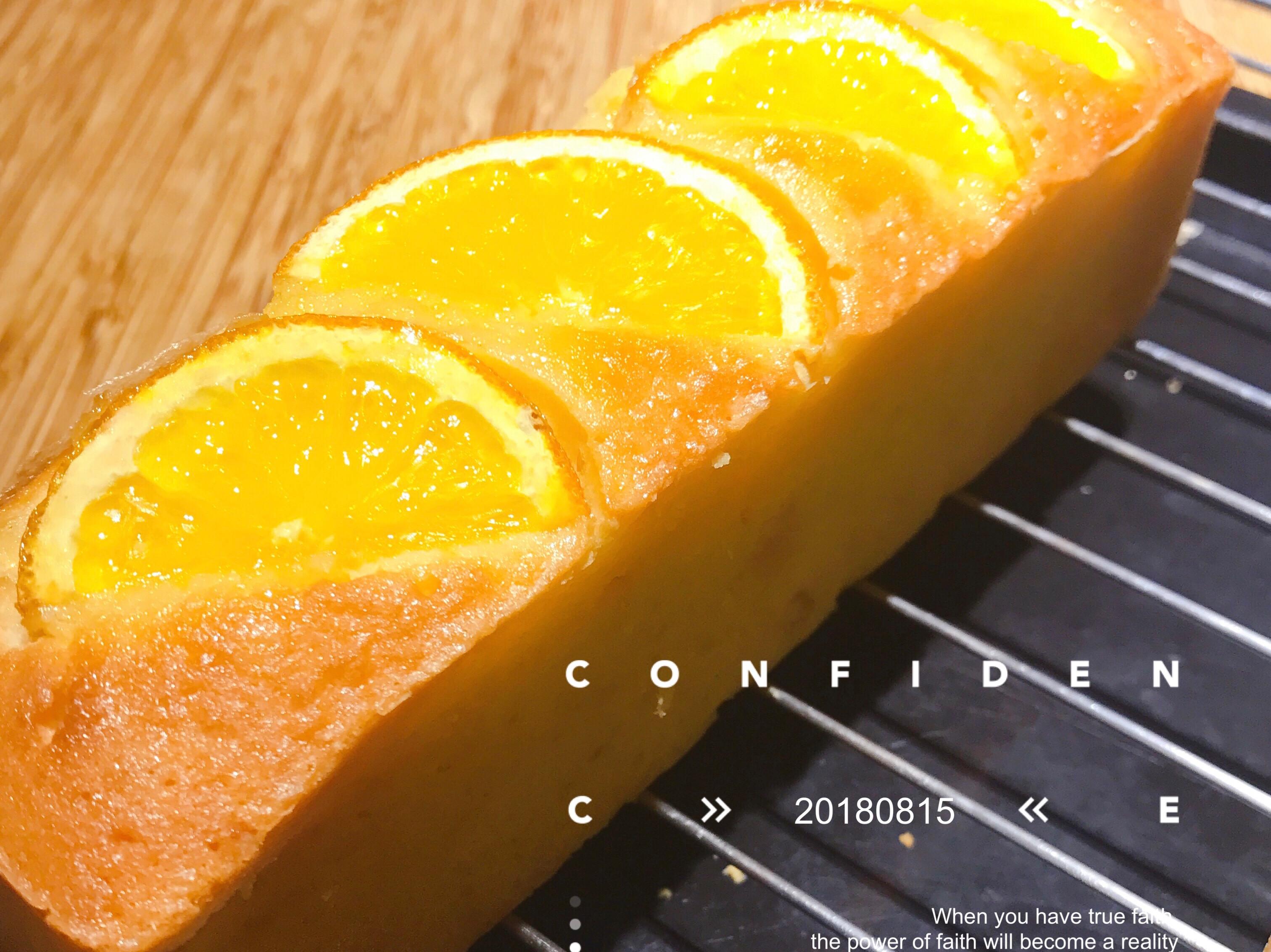 柳橙磅蛋糕🍊真的很簡單