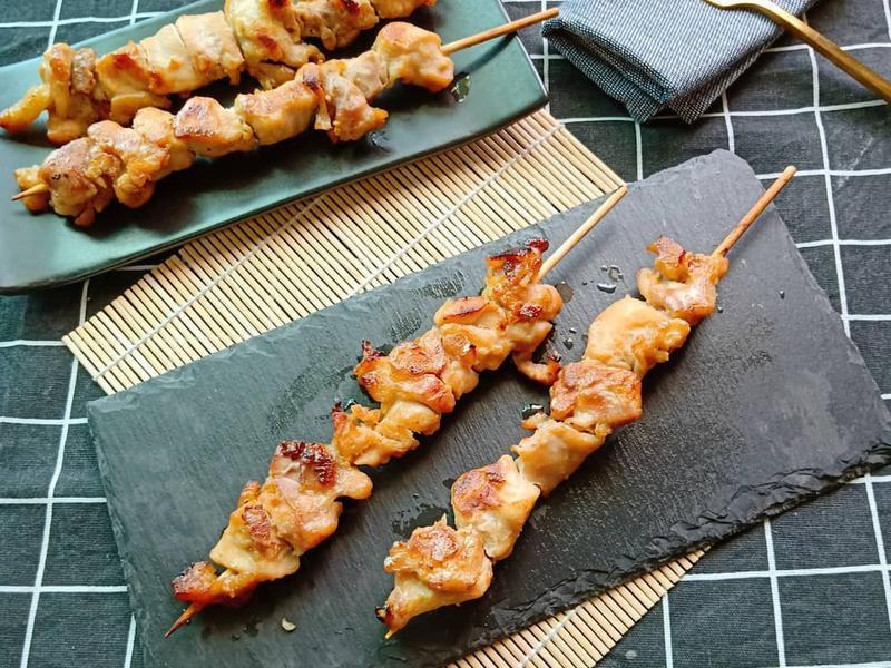 味噌烤雞肉串