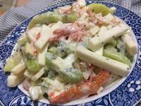 蟹肉棒綠竹筍沙拉