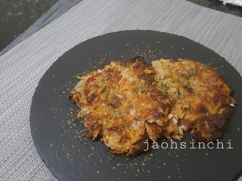 零廚藝的【尹食堂泡菜煎餅】