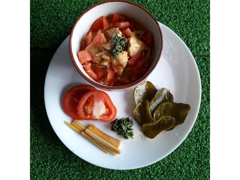 泰式蕃茄牛奶麵