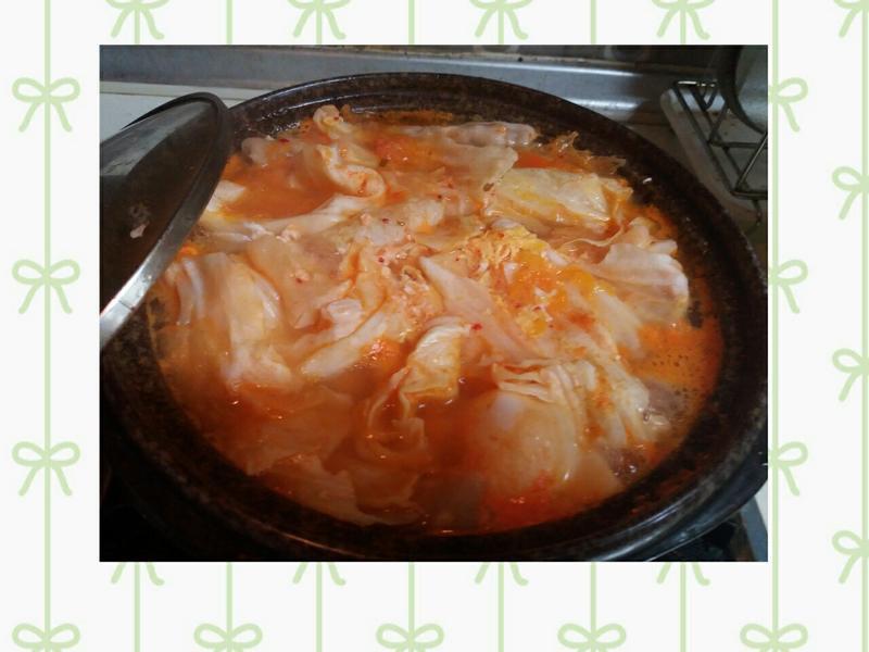 韓式泡菜雞肉部隊鍋