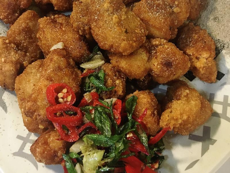 椒鹽鹹酥雞
