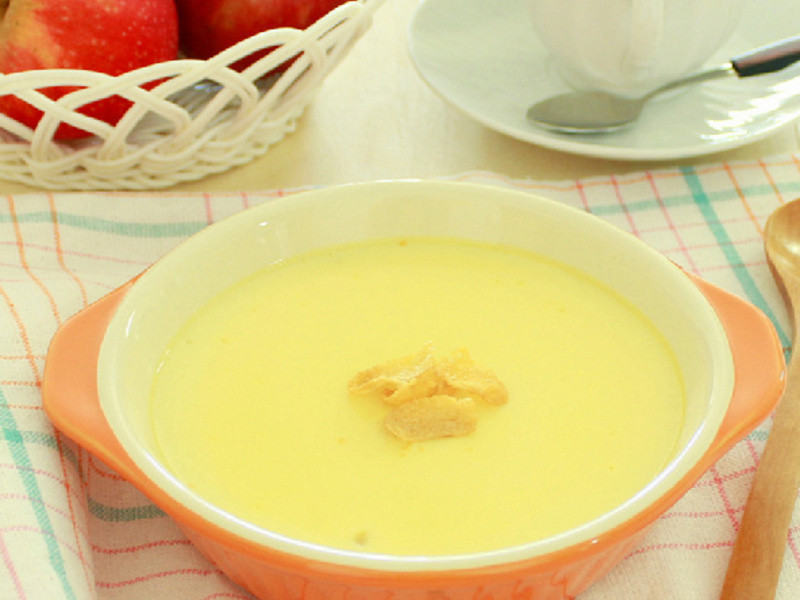 甜豆漿玉米布丁 ~ 香甜滑嫩!