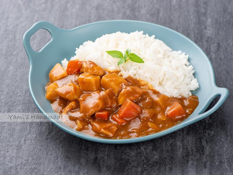 蘋果咖哩雞【家常料理】【電子鍋料理】
