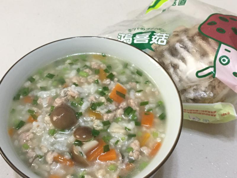 韭菜好菇粥【好菇道親子食光】