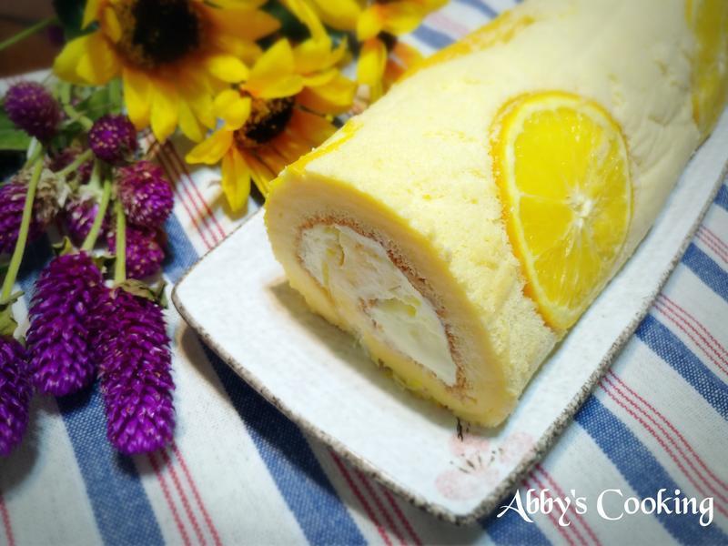 柳橙蛋糕捲