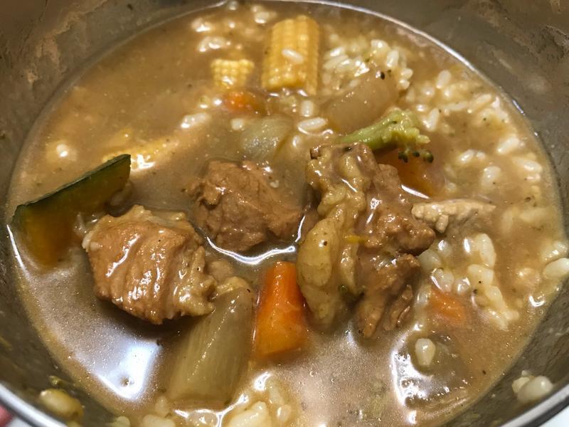 👨🏻🍳南瓜燉咖哩-溫和豐富營養