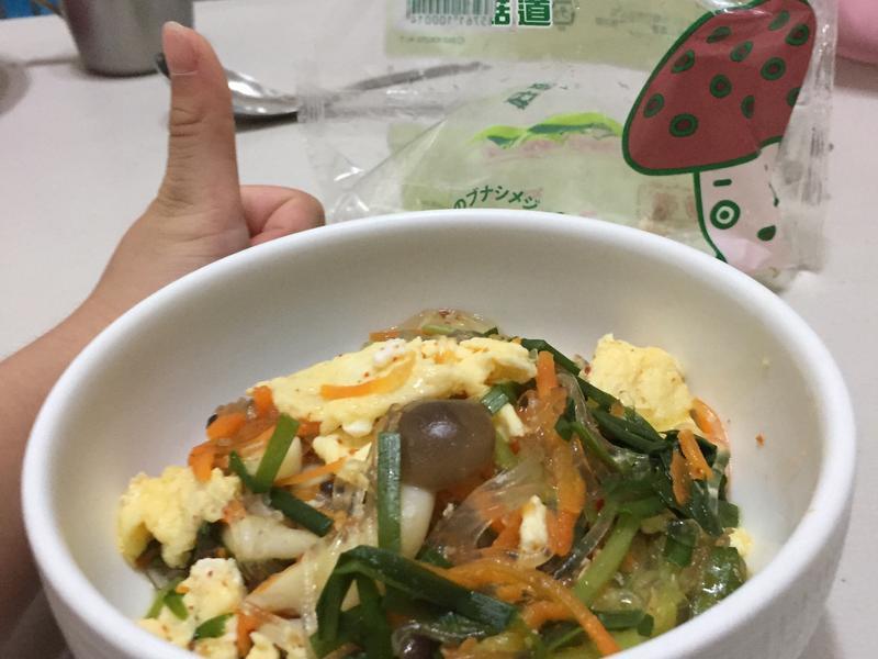 韓味雙菇粉絲煲【好菇道親子食光】