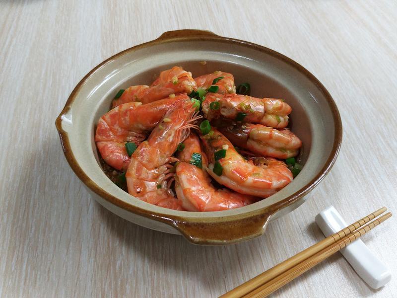 快速減肥餐:鮮蝦粉絲煲 超簡單5分鐘學會