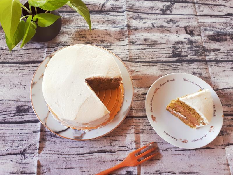 抹茶栗子蛋糕