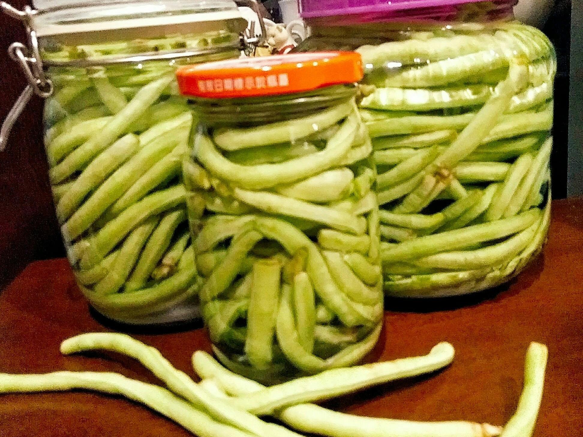 醃漬酸豇豆