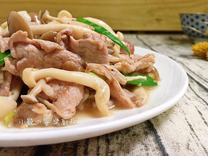 菇菇炒肉片【好菇道親子食光】