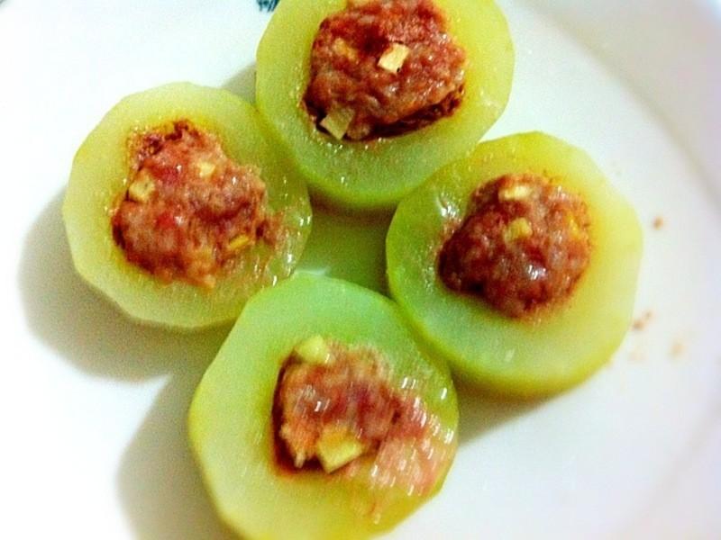 ♥小雨廚房♥大黃瓜鑲肉