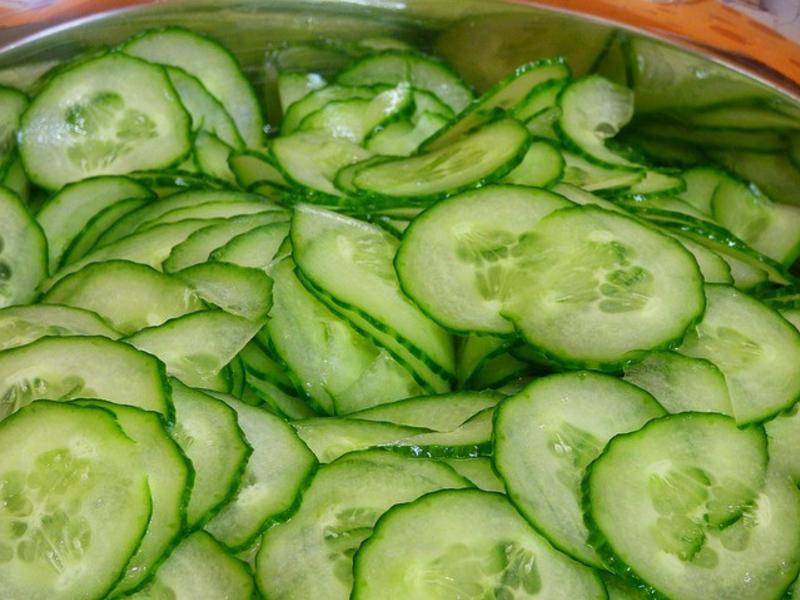 台式醃小黃瓜Cucumber Salad