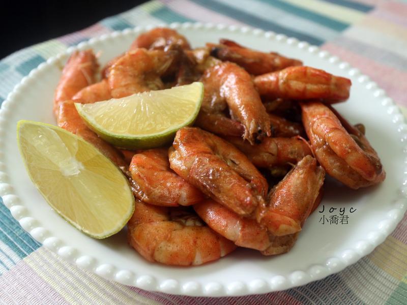 奶油檸檬胡椒蝦