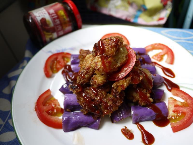 蜜汁茄香雞(李錦記蜜汁烤肉醬)