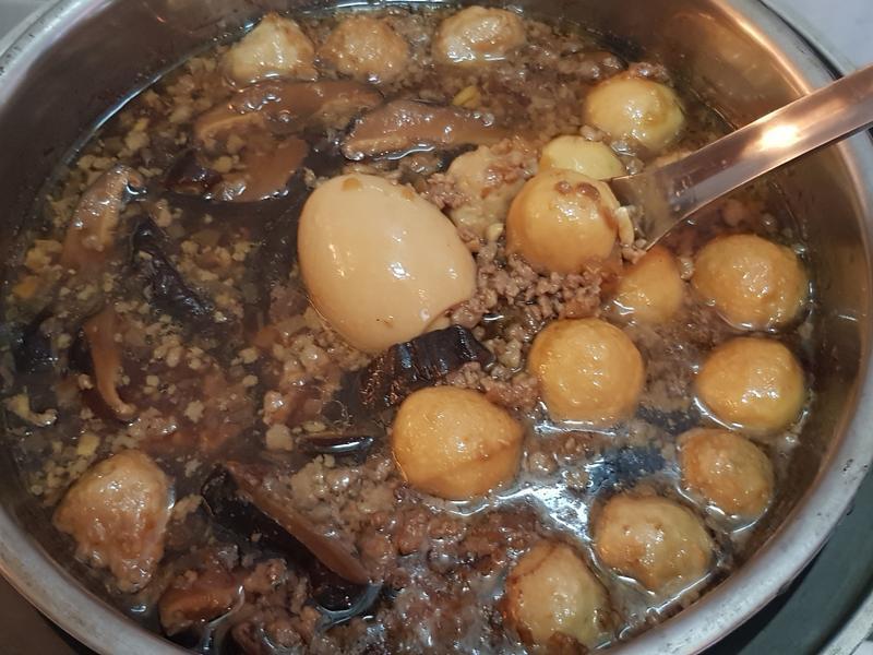 香菇貢丸肉燥