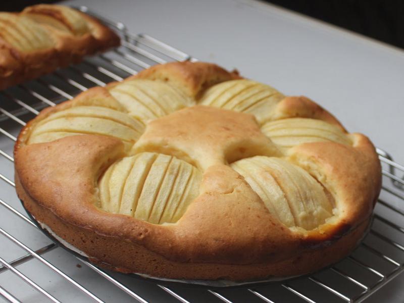 簡單蘋果蛋糕