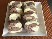 酸奶雙色蛋糕卷