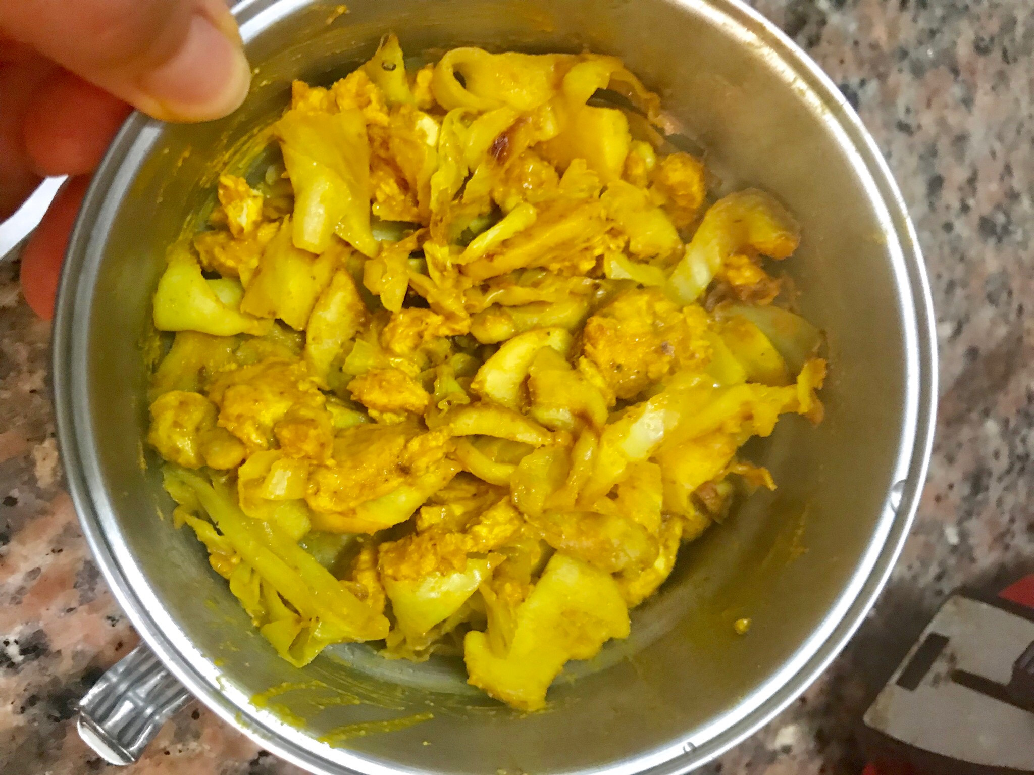 無糖油鹽-低卡!印度咖喱雞肉(福樂優格)