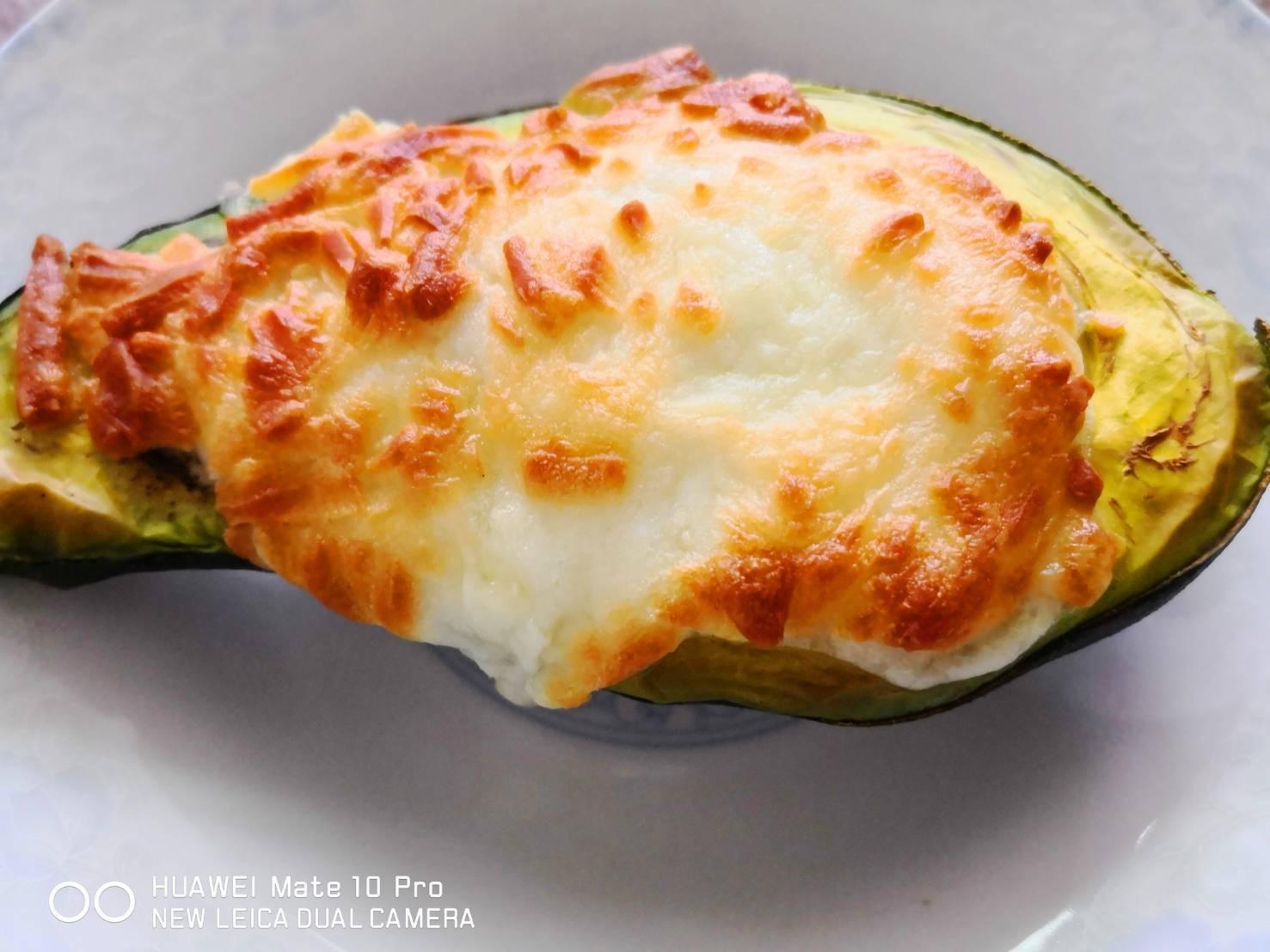 酪梨蛋起司焗烤-生酮飲食/低碳飲食