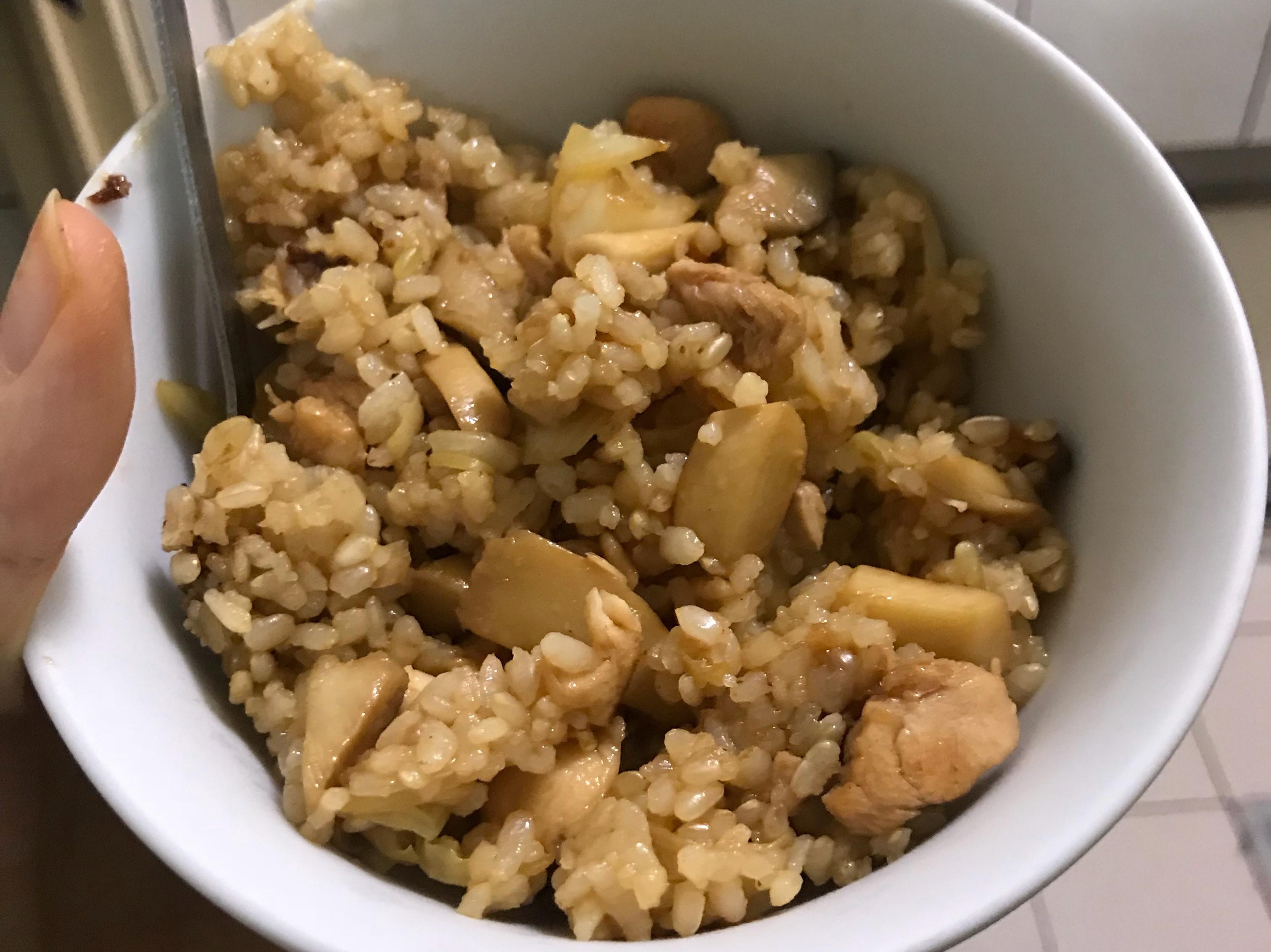 蜜汁烤肉-無油、鹽國民美食雞肉炒飯❤️