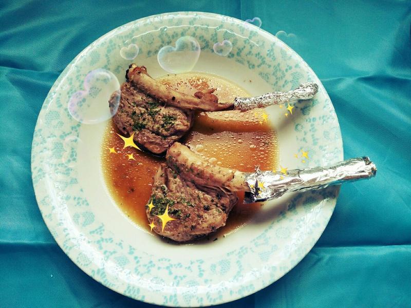 香烤豬肋排 五種調味料搞定