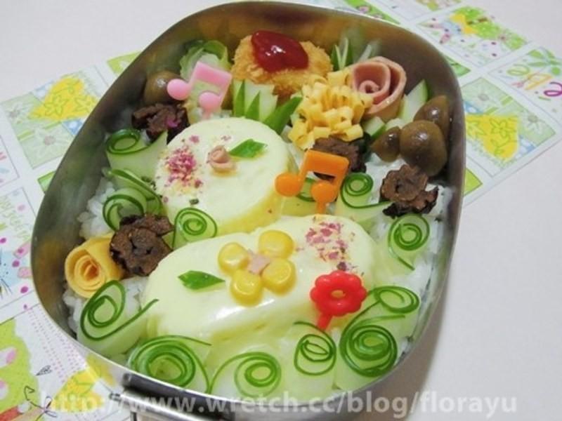 [親子食堂]起司蛋糕便當