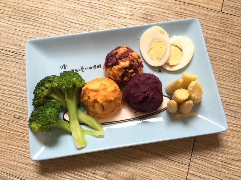 輕食主義-雙色地瓜泥沙拉