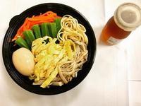 夏日涼麵-自製蜂蜜日式醬汁&溏心蛋
