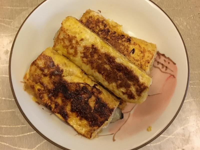 香蕉蜂蜜吐司(參考噪咖網頁)
