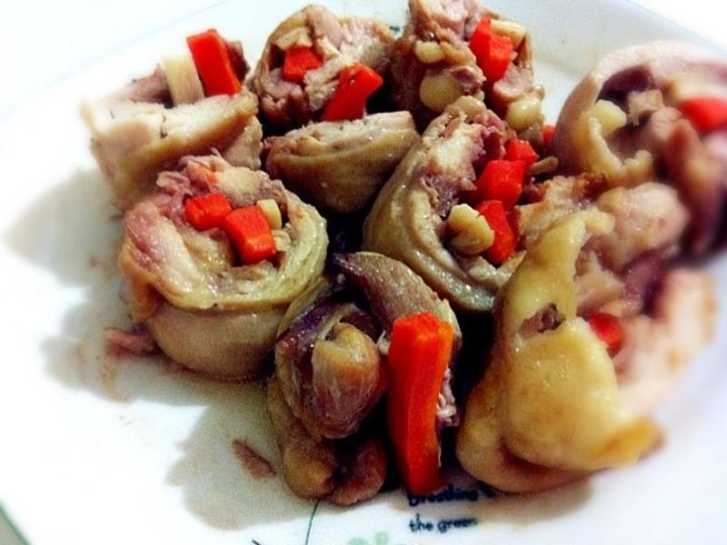 ♥小雨廚房♥蔬菜雞肉卷