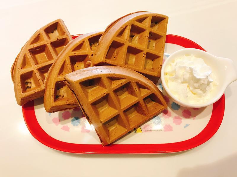 巧克力鬆餅 ❤️ Waffle