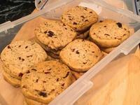 豆漿紅茶蔓越莓手工餅乾 #麵包機食譜