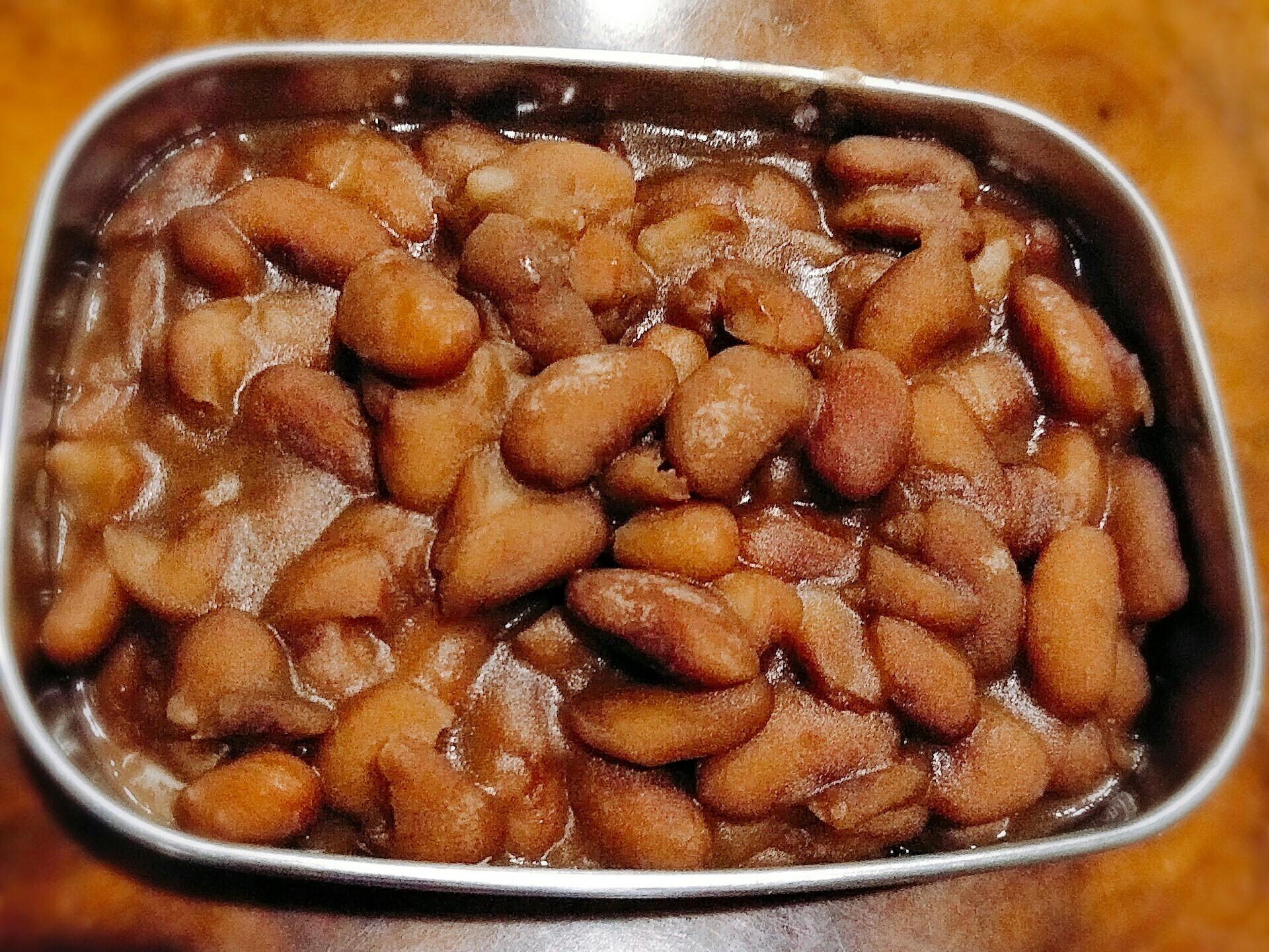 鹹甜蜜花豆
