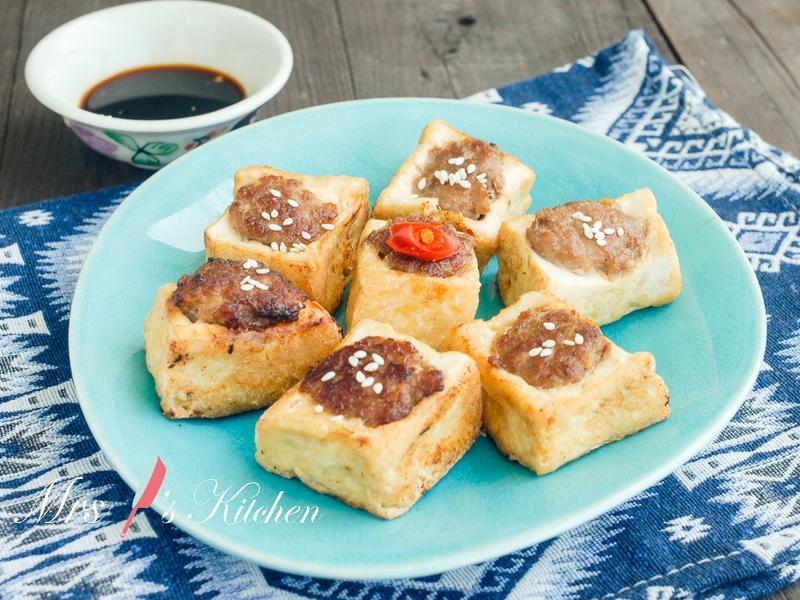 【簡易家常菜】釀豆腐
