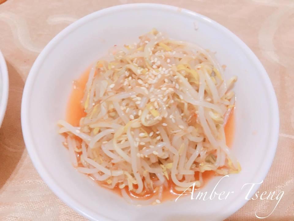 韓式涼拌綠豆芽(改)