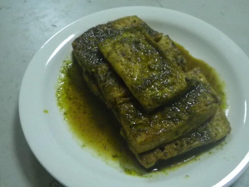 香椿煎豆腐