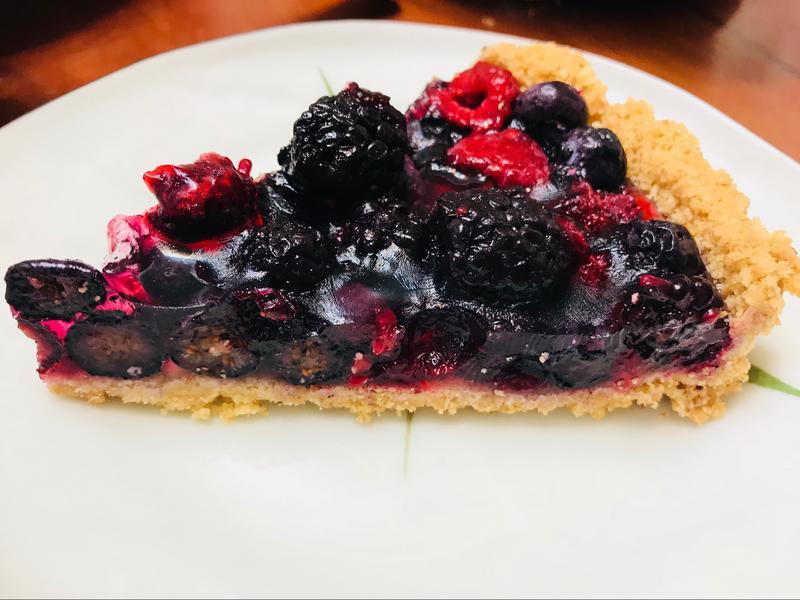莓好人生:微甜有機三種莓塔