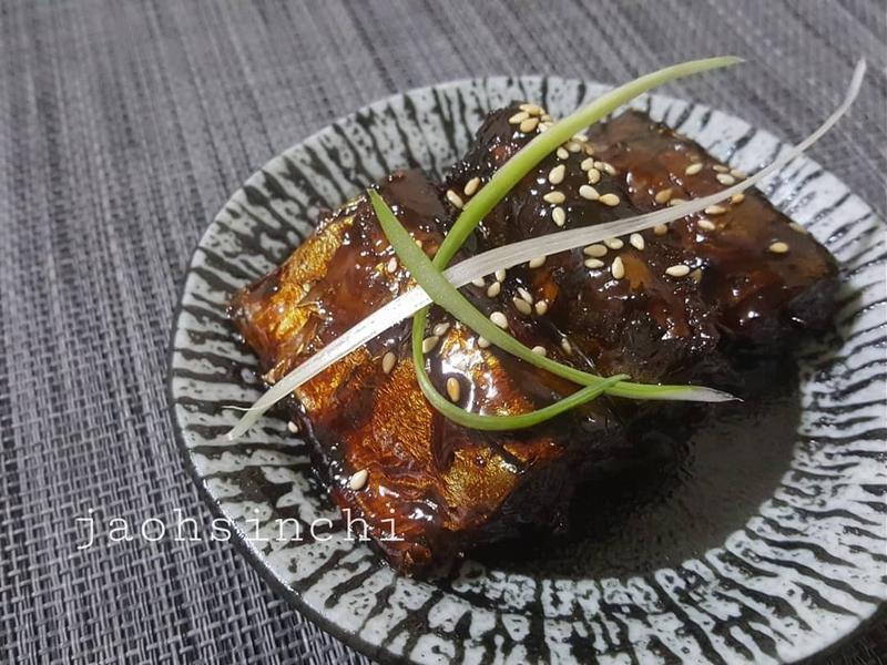 日式【佃煮秋刀魚】美味的下酒菜