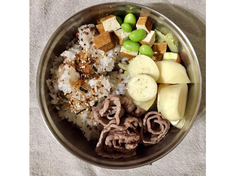 增肌減脂-毛豆炒豆乾