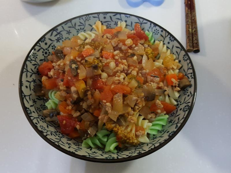 蕃茄肉醬義大利螺旋麵